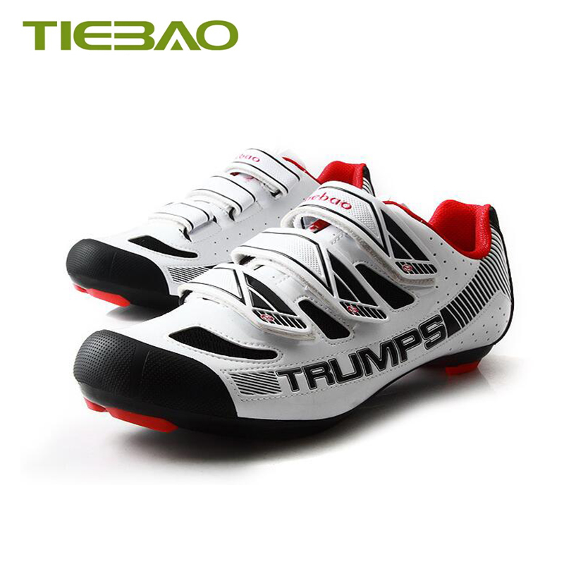 Купить с кэшбэком Tiebao sapatilha ciclismo Road bike shoes 2019 men women self-locking zapatillas deportivas hombre Athletic cycling sneakers
