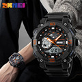 SKMEI 1228 20pcs Men Sport Outdoor Digital Watches LED Dual Display Clock Waterproof Military Wristwatches Relogio Masculino