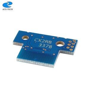 Image 2 - 1 set 8K NA version 70C1XK0 70C1XC0 70C1XM0 70C1XY0 toner chip für Lexmark CS510 CS510de CS510dte laser drucker patrone