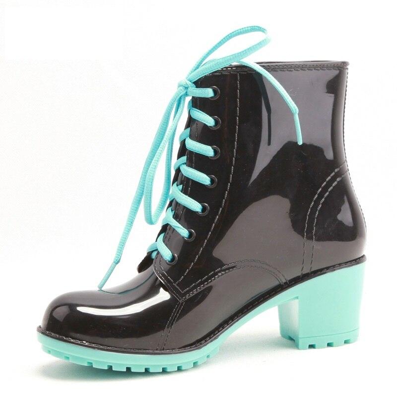 Mujer Dulces Botas Nueva De Moda Lluvia Para Zapatos 2015 4tzTn