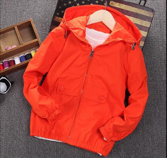 2018 nuevos niños de moda casual chaqueta niño grande otoño chaqueta