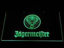 a288 Jagermeister Deer head LED Neon Sign(China)