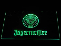 a288 Jagermeister Deer head LED Neon Sign