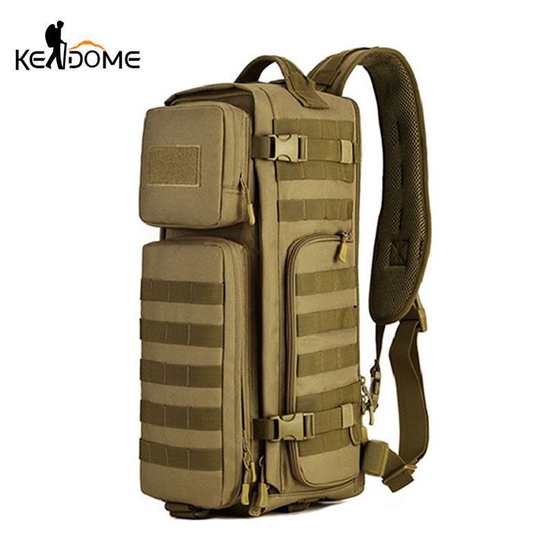 Outdoor Military Camouflage Rucksacks Large Capacity Tactical Backpacks Women Men Mountaineering Camping Traveling Bag XA605WD цены