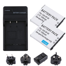 CNP-60 NP 60 Battery pack CNP60  batteries Charger NP60 For CASIO EX-Z80 S10 Z9 FS10 S12 Z20 Z29 Z85 Digital camera