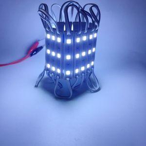 Image 4 - 10 Cái/lốc Module LED 5054 3 LED DC12V Chống Nước Quảng Cáo LED Thiết Kế Các Module Màu Trắng Siêu Sáng Chiếu Sáng
