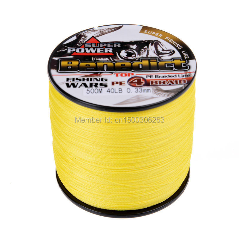 4 strands 500M yellow
