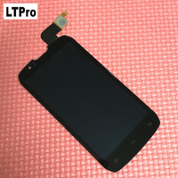 High Quality Tested Working Black LCD Touch Screen Digitizer Assembly For DNS S4502 4502 S4502M Phone
