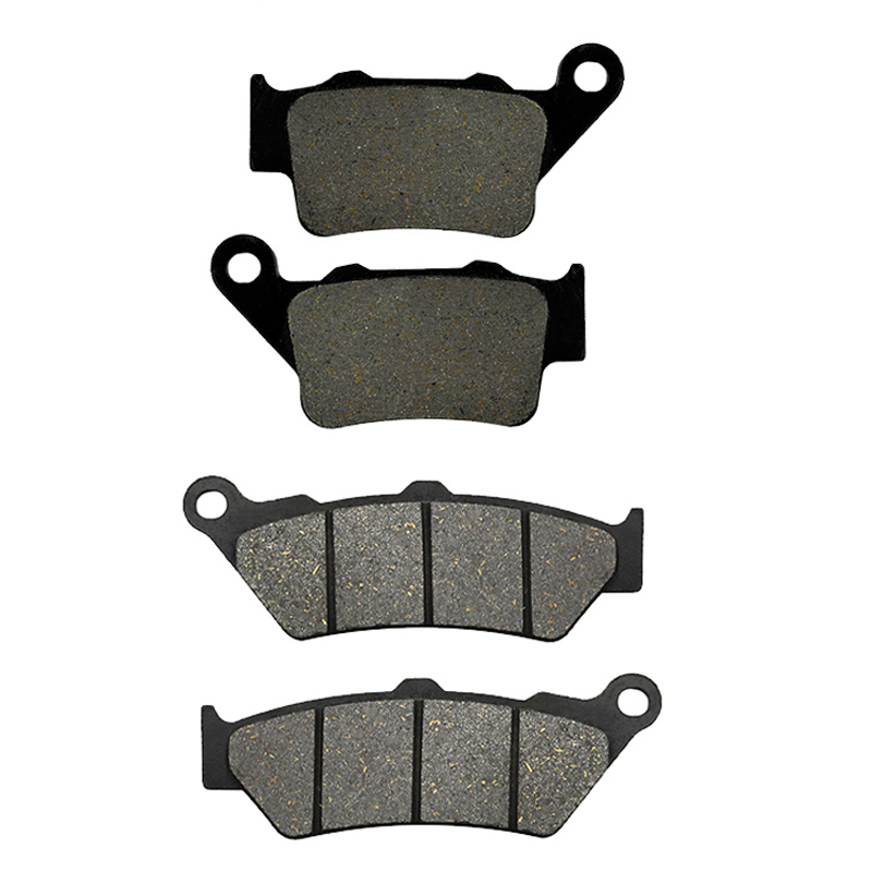 Motorcycle Front and Rear Brake Pads for <font><b>Yamaha</b></font> <font><b>XT660</b></font> XT 660R XT 660 R 2004 2005 2006 2007 2008 2009 2010 2011 2012 2013 image