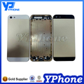 Replacement Parts For iPhone 5S Back Housing Case Middle Frame With Logo and Sim Tray and Buttons Free Shipping