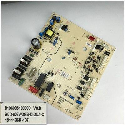 8106035100003 V0.8 For BCD-603WDGB-DIQUA-C Good Working Tested