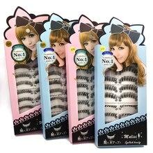 2019 New styleSD-L01 Natural Long False Eyelashes 10 Pairs Pure High Quality Fiber Beauty Girls YA305