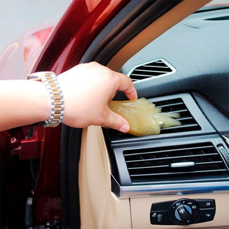 1PC car cleaning magic clean Gel For Audi A3 A4 B6 B8 B7 B5 A6 C5 C6 Q5 A5 Seat Leon Mitsubishi ASX Outlander Lancer Accessories