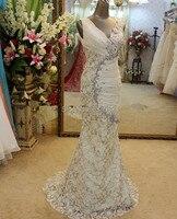 EDM 0067, украшенное кристаллами, платье для матери невесты на свадьбу, Вечерние Длинное платье русалка, вечернее платье с кружевной юбкой