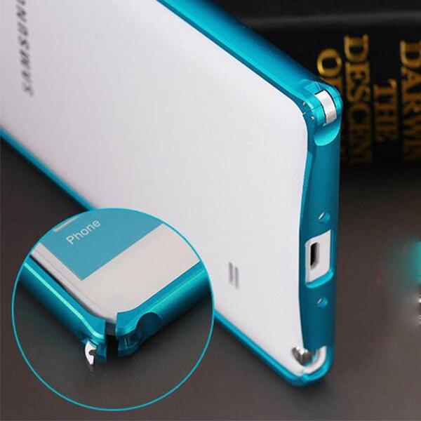 0c0eb0e4f for Samsung Galaxy Note 4 N9100 metal aluminum bumper Frame Cover ultrathin  Bumpers Funda Capa Para celular carcasa coque case
