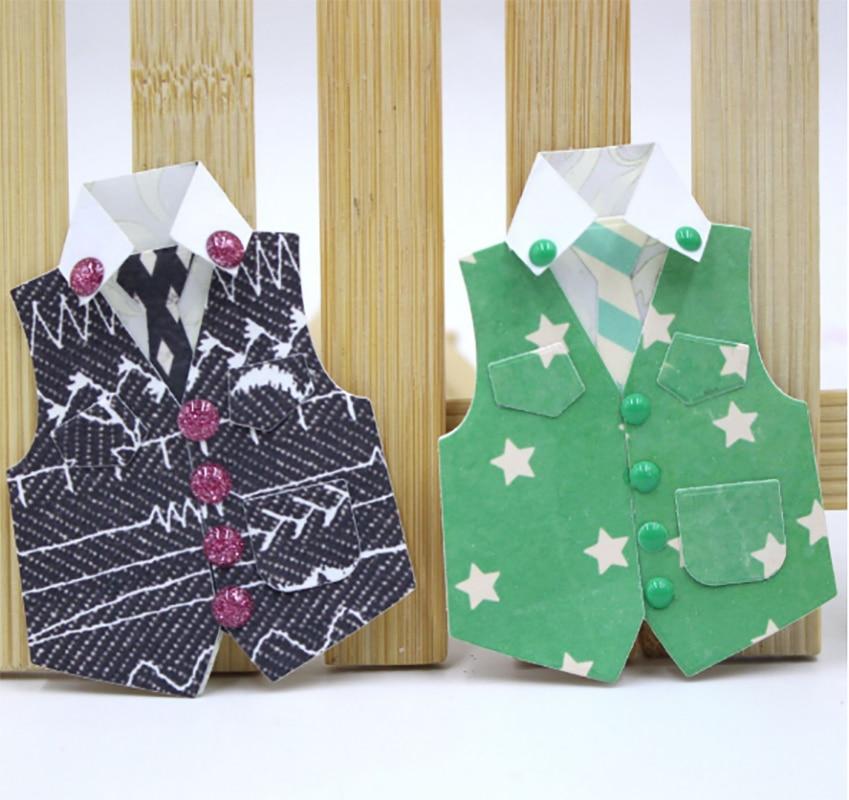 AZSG Vest Shirt Shape Cutting Dies For DIY Scrapbooking Decorative Card Making Craft Fun Decoration  5.7*6.35cm