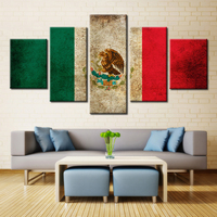 5 Panel Modern Home Art Wall HD Picture Canvas Printings Living Room Decoration Theme The United