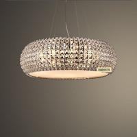 Luxury K9 Crystal Modern Pendant Chandelier Home Lighting Fixture For Living Room Parlor Lustres De Cristal
