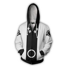 YFFUSHI Naruto 3d Hoodie For Men Zipper Coat Men Cool 3d Hooded Hoodies Men Jacket Cosplay Cartoon 5XL Funny Outwear Male/Kid
