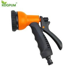 Регулируемый садовый водяной распылитель, водяной пистолет для поливка газона, шланг, распылитель, распылитель воды, пистолет для мытья авт...