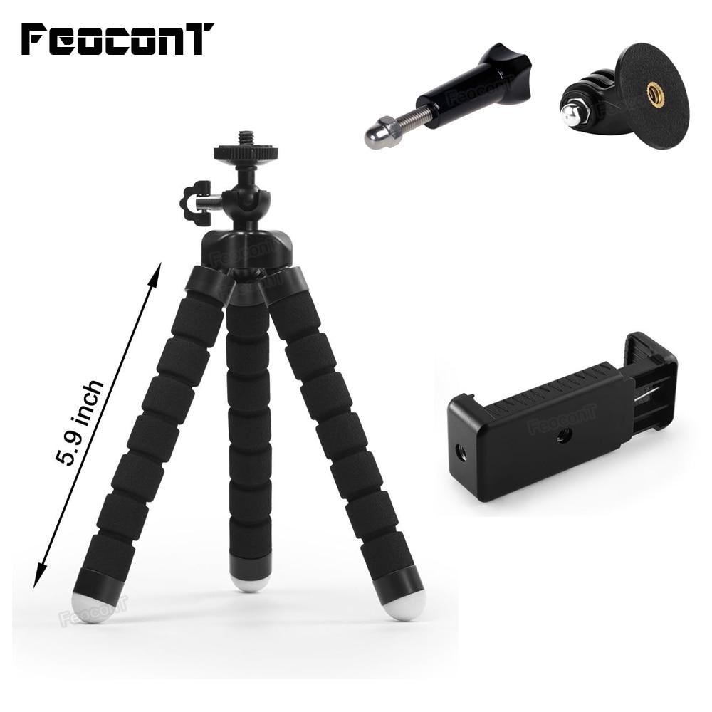 Teléfono FeoconT Trípode Soporte de teléfono ajustable y flexible - Cámara y foto