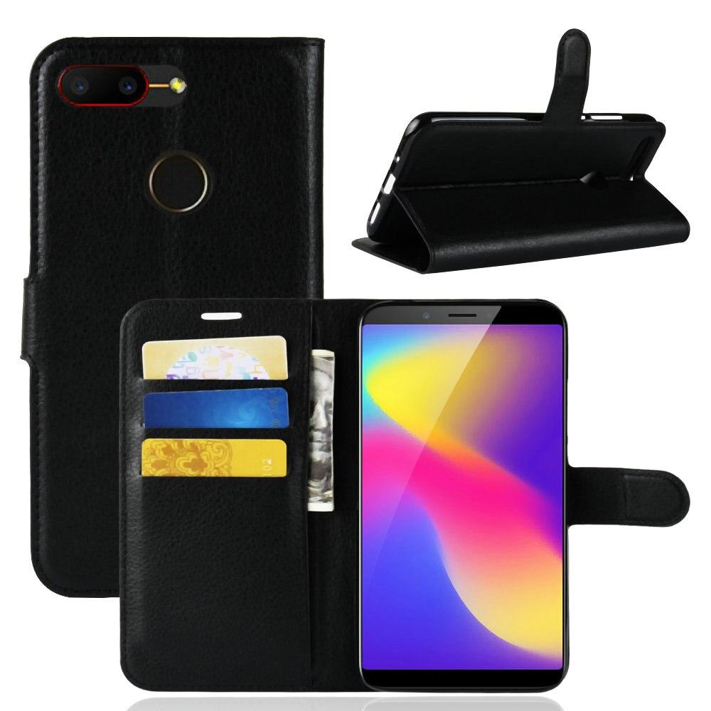 2019 Mode Für Zte Nubia N3/v18 Fall Klassische Lichi Textur Flip Leder Abdeckung Wallet Card Slots Stand Fällen 6,01 Zoll Telefon Schutzhülle Tasche