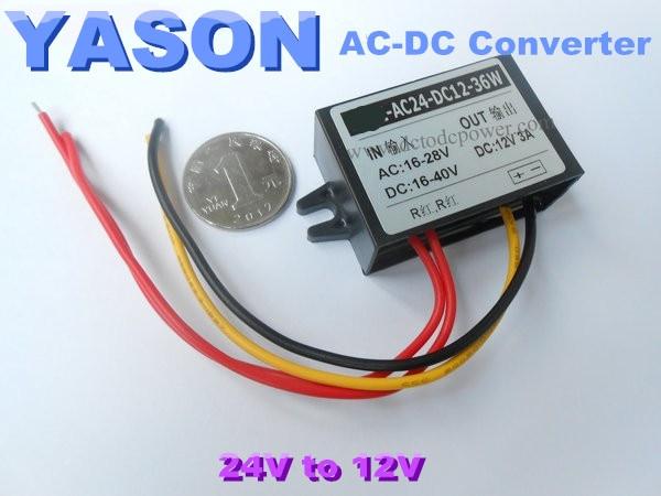 AC-DC 24V to 12V Buck Voltage Converter 3A 36W мультиметр uyigao ac dc ua18