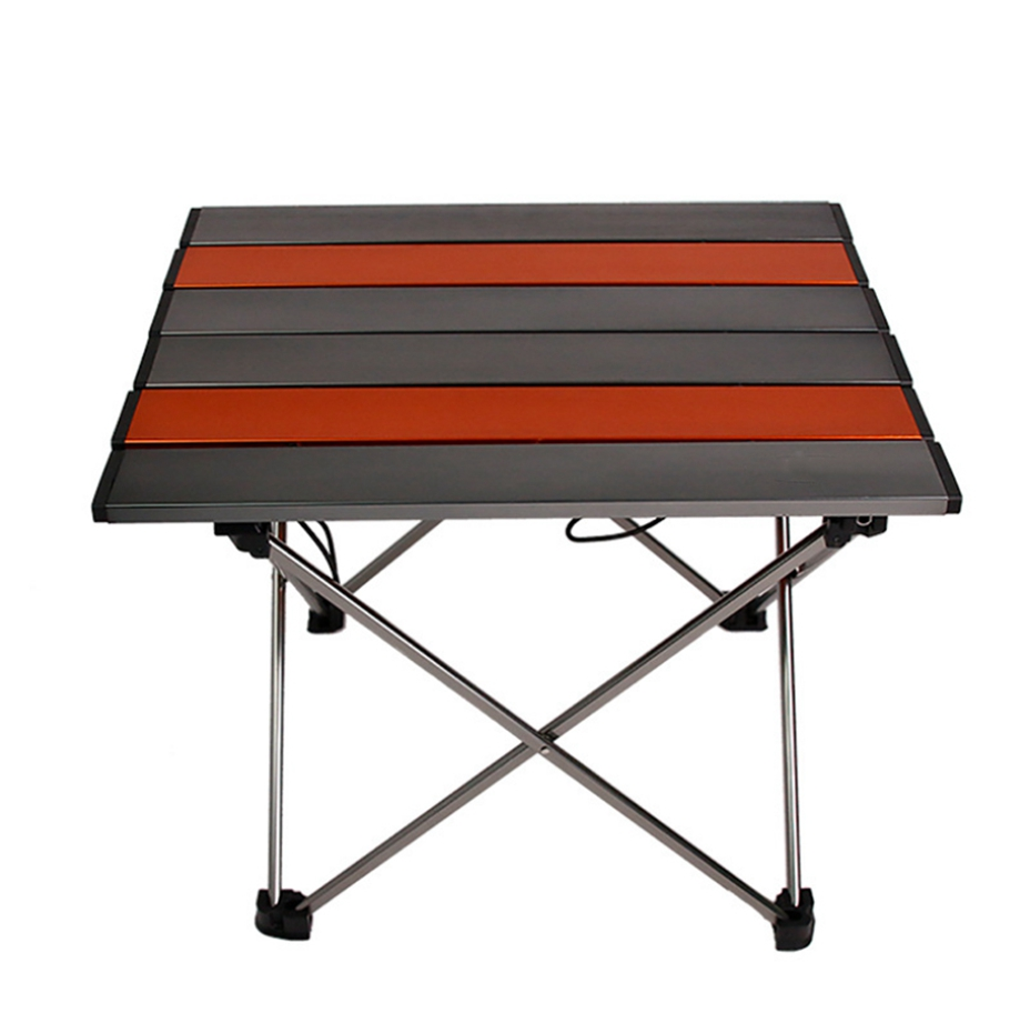 YINGTOUMAN extérieur vaisselle Portable pliable Table pliante bureau Camping extérieur pique-nique Table Ultra-léger vaisselle bureau - 2