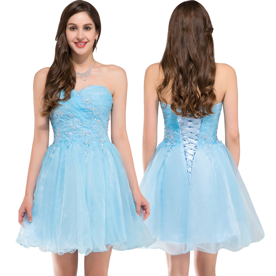 Light Blue Cocktail Dresses for Party | Dress images