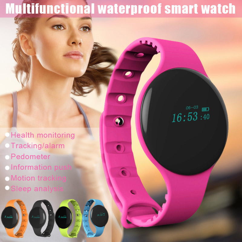 Newly Bluetooth Smart Watch Sleep Monitor Sport Waterproof Wristwatch for Android IOS iPhone Samsung @YL