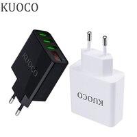Display LED Portátil Carregador de Parede Adaptador USB Carregador de Viagem DA UE/EUA Plug Carregadores Do Telefone Móvel Para o iphone Samsung Xiaomi Huawei