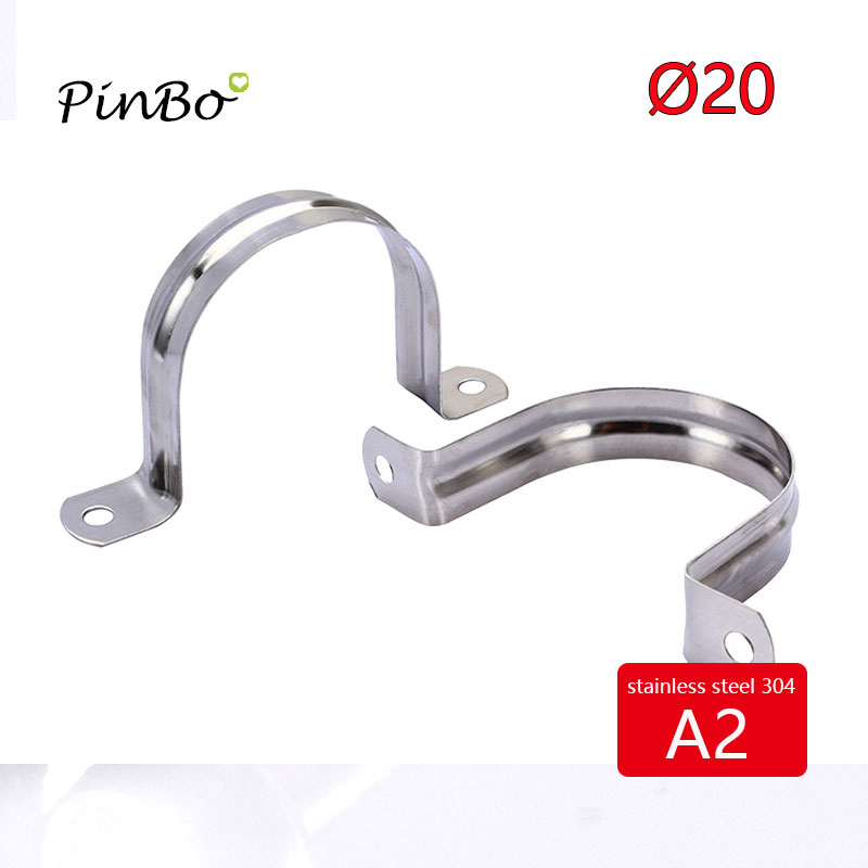 Electrical & Solar Other Just 10 X Stainless Steel Tube Clips Stainless Saddles 25mm Tube Electrical Saddles