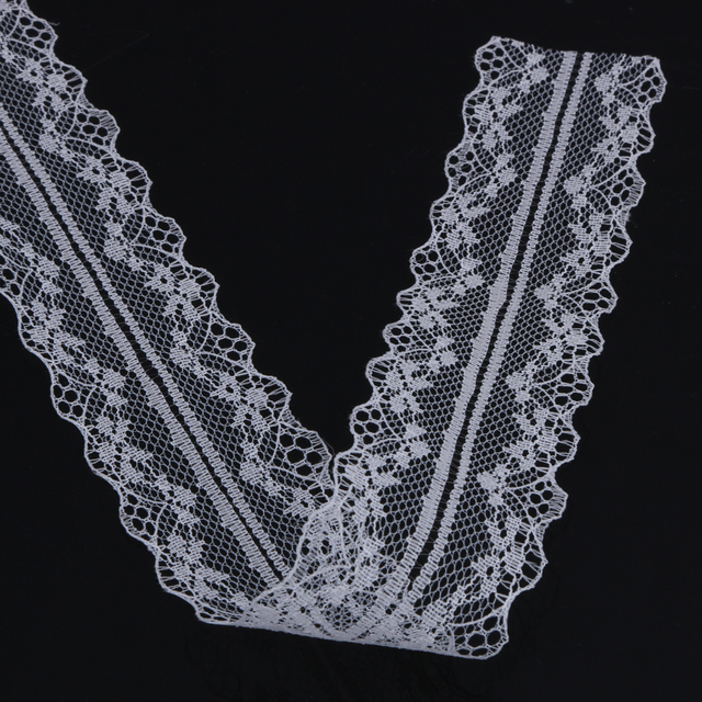 10 Yards White Lace Trim Vintage Sequined Beading Lace Fabric Embroidery  Lace Trim Mesh Lace Sewing