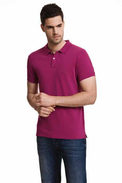 Javier Larrainzar Casual   Polo   Pique men JL0000287 Purple