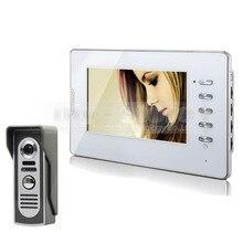 DIYSECUR Wired Video Intercom Door Phone Doorbell 600TVL IR Camera 7″ LCD Monitor 1v1