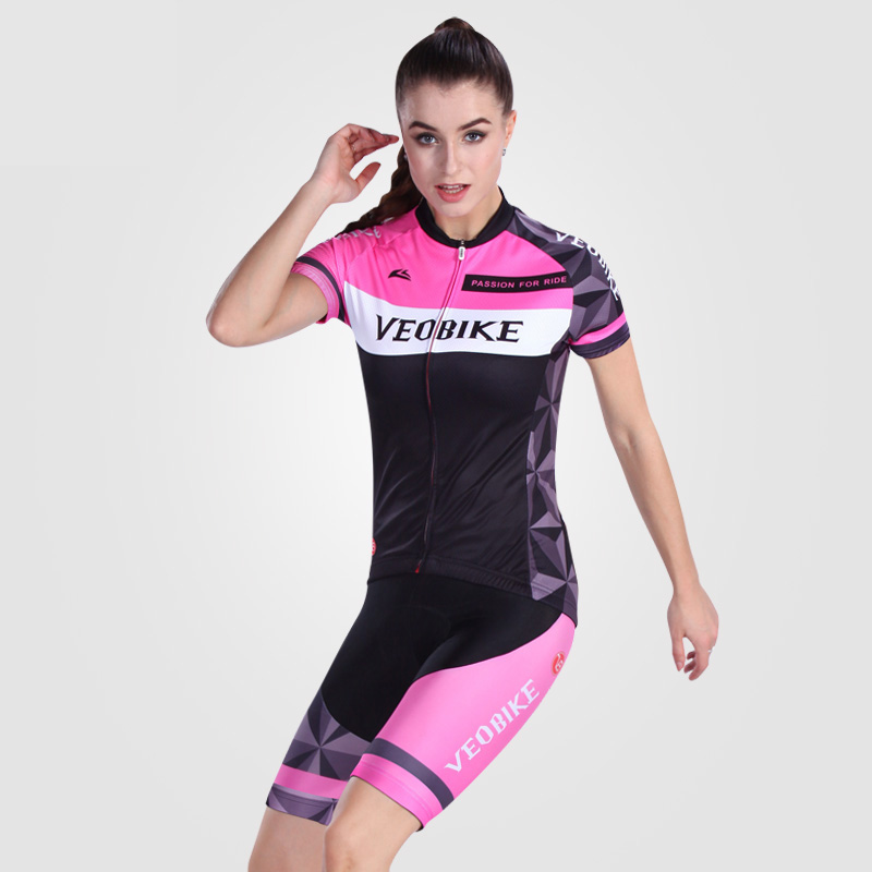 Cycling Jersey Bicycle Set Cycling Women Clothing Maillot Culote Ciclismo Biking Wear Cycling Equipment W02