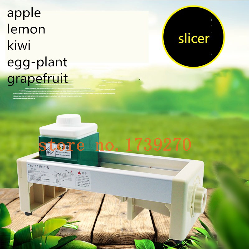 JINKELI Update Commercial Use Slicer Machine,manual Apple Lemon Carrot Ginger Fruit And Vegetable Slice Machine