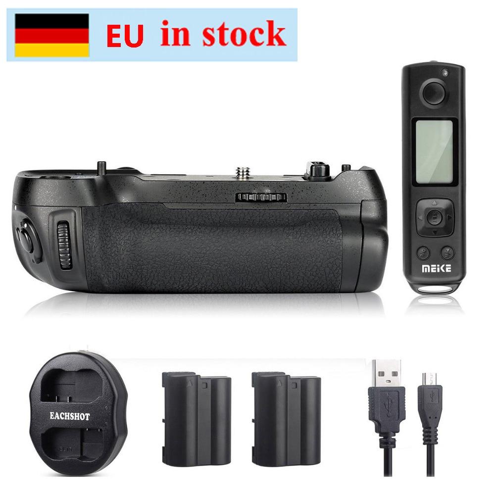 (EU Location) Meike MK-D850 Pro w/ 2.4G Wireless Remote Control Battery Grip for Nikon D850 + 2*EN-EL15 Battery + Dual charger(EU Location) Meike MK-D850 Pro w/ 2.4G Wireless Remote Control Battery Grip for Nikon D850 + 2*EN-EL15 Battery + Dual charger