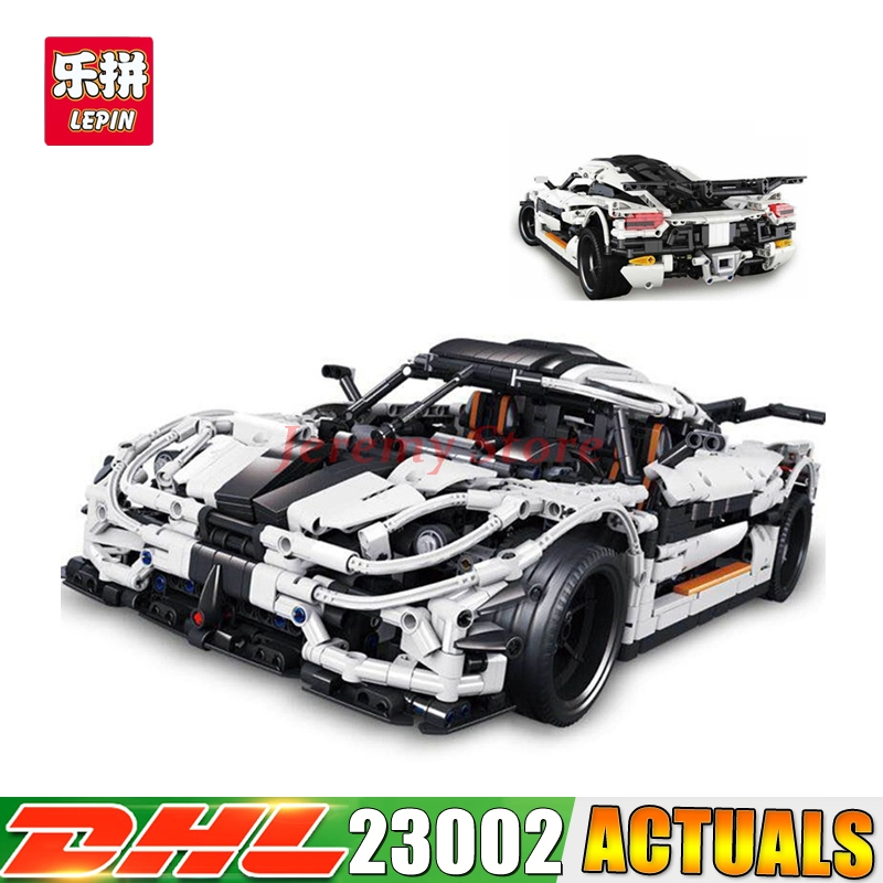 2017 DHL 3136Pcs Lepin 23002 Technic Series The MOC-4789 Changing Racing Car Set Children Building Blocks Bricks Toys Model kislis 4789