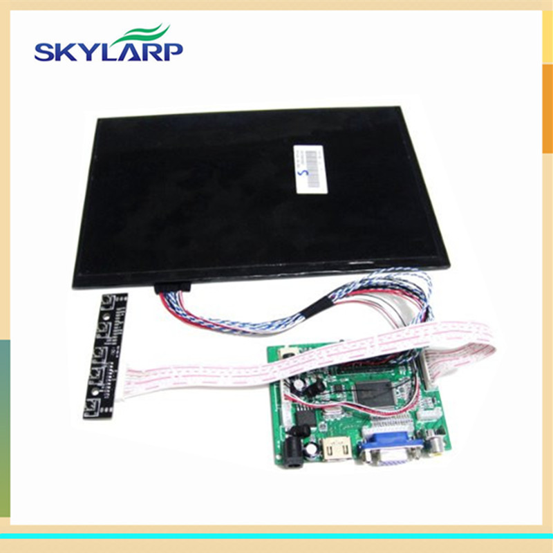 skylarpu 10.1 inch High resolution 1280*800 LCD Screen TFT Monitor Remote Driver Control Board 2AV HDMI VGA for Rasbperry Pi finesource 7 1280 x 800 digital tft lcd screen driver board for banana pi raspberry pi black