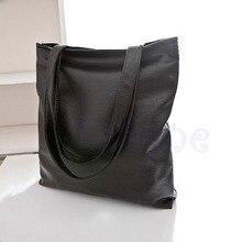 Кожаные сумочки большая сумка-шопер для Новинки для женщин моды сумка кошелек пляжные сумки большой Ёмкость черный сумки с застежкой-молнией