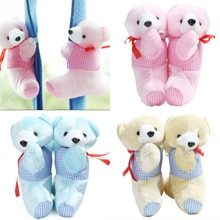 1 Pair Cute Baby Kid Cartoon Bear Holder Nursery Bedroom Curtain buckle strap curtain clip Tieback Buckle Hook