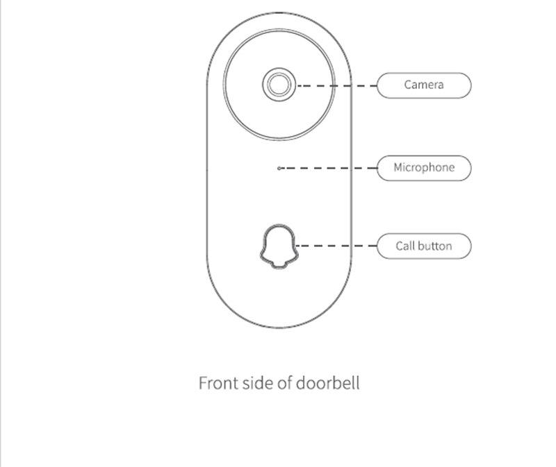 Sans fil IP Bluetooth sonnette 960P caméra vidéo téléphone WIFI P2P porte cloche Vision nocturne IR mouvement détecter alarme pour IOS Android - 6