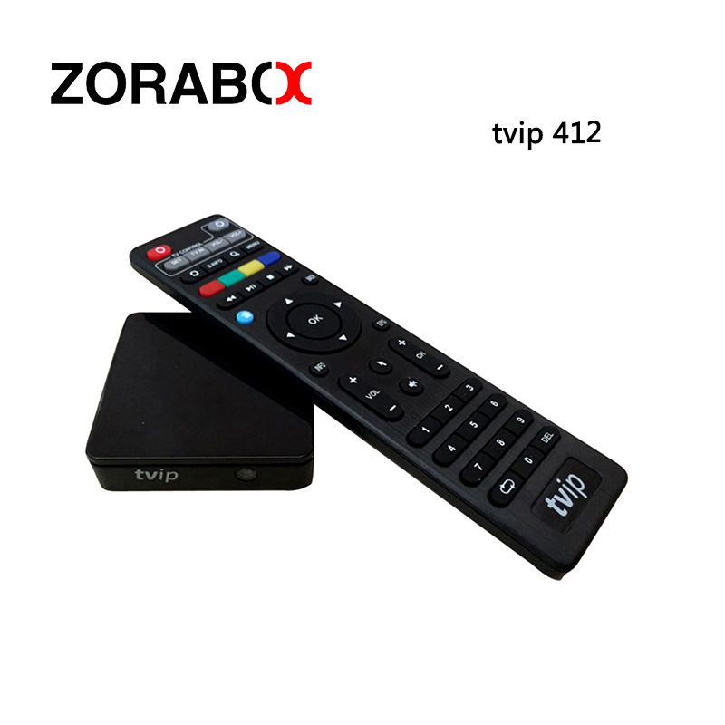 Smart Android Iptv Box Tvip412 Linux OS Internet TVIP Set Top Box WIFI Support M3U List Stalker EPG Youtube Airplay TVIP410 Plus android box iptv stalker middleware ipremuim i9pro stc digital connector support dvb s2 dvb t2 cable isdb t iptv android tv box