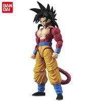 Original Bandai Tamashii Nations Figure rise Standard Dragon Ball GT Toy Figure Super Saiyan 4 Son Goku Plastic Model