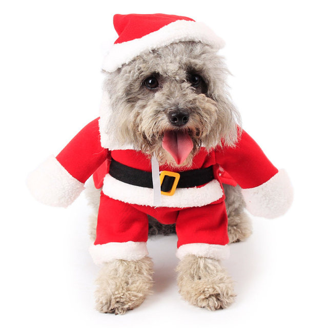 Puppy Pet Dog Christmas clothes Costume Clothing Cosplay Dog Cat Suit Outfit  jumpsuit supplies - Puppy Pet Dog Christmas Clothes Costume Clothing Cosplay Dog Cat