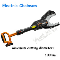 Portable Chainsaw Strong Power Lithium Electric Chainsaw 20V Family Leisure Garden Electric Saw Wood Cutting ToolsWG329E