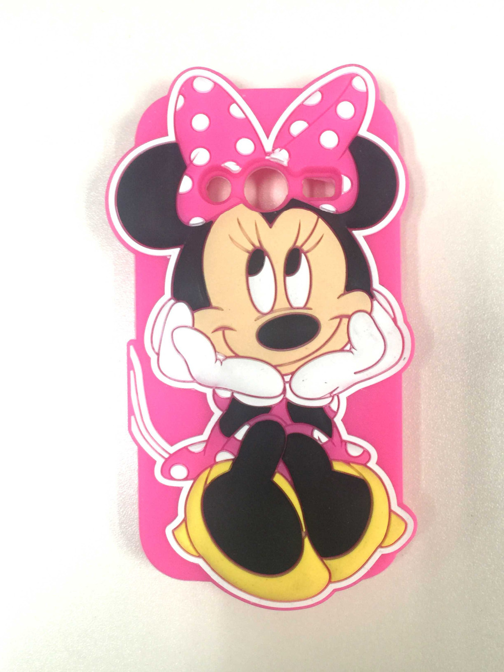 Samsung Galaxy A5 A5000 New Cartoon Fashion 3D Cute Minnie Rubber Soft Silicone Skin Cases Covers  -  All the Best Things store