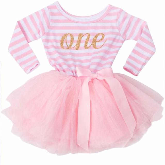 Baby Mädchen 1 2 3 Jahre Geburtstag Kleid Tutu Infant Partei Kleider ...