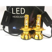Auyinlian светодиодный h4 D1S D2S H7 светодиодный H4 H1 H3 H8 H9 H11 881 фар автомобиля светодиодный фары для авто Универсальный 12 V
